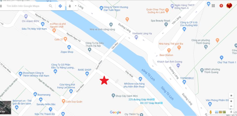 Bản đồ Shop Yeucay.vn