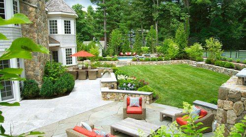 Một số nguyên tắc trong thiết kế cảnh quan sân vườn